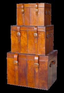 Gepäck im Kofferraum