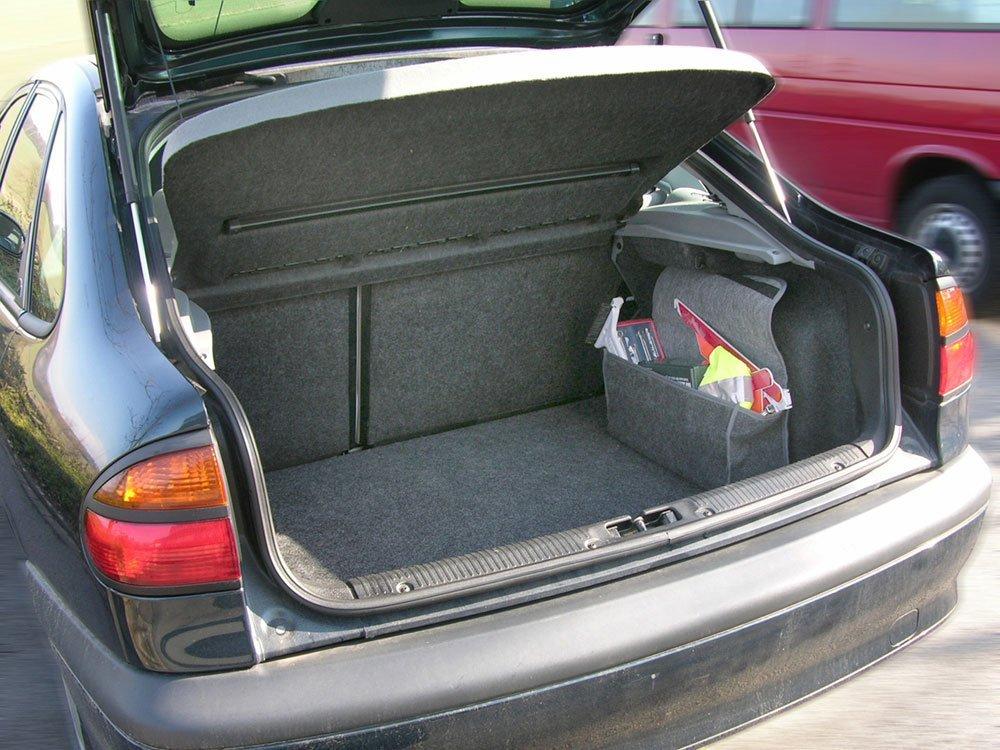 Kofferraumtasche mit Klett