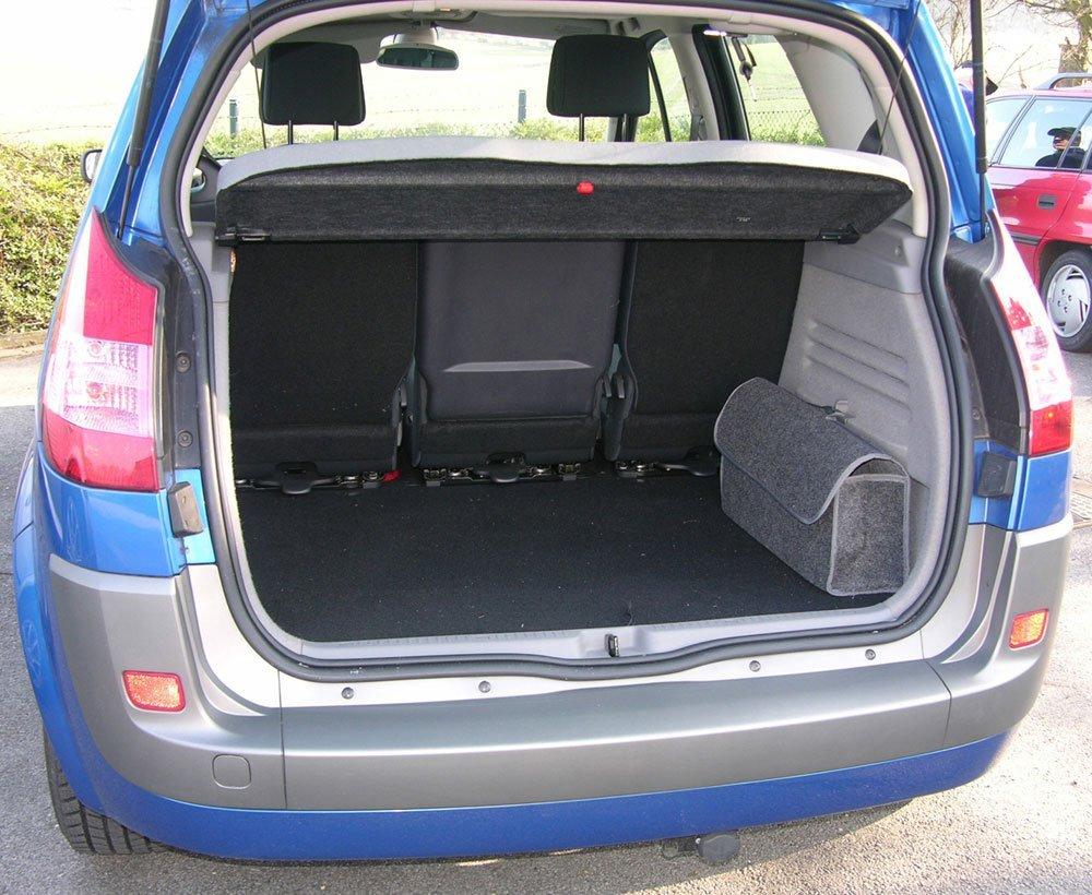 Kofferraumtasche mit Klettverschluss
